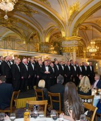 Compere at the Hotel de Paris, Monte Carlo