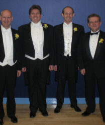 Compere duties with The Three Other Tenors
