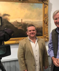 "Filming ""Fishlock's Choice"" with Trevor Fishlock, Llantrisant Guildhall"