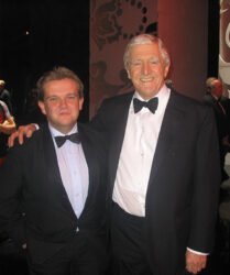 Legendary broadcaster Michael Parkinson at the Royal Variety Show