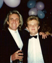 Nightclub owner Peter Stringfellow at a Dreamflight to Disneyworld charity night in Stringfellows, London