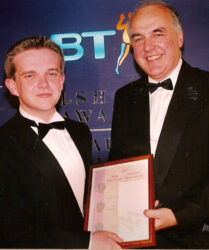Presented with the BT Highly Commended Weekly Journalist of the Year Award