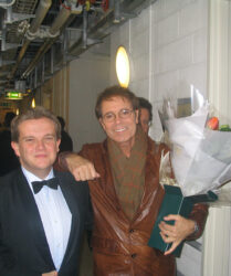 Sir Cliff Richard at the Royal Variety Show