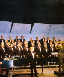 Tenor soloist, Treorchy Male Choir, Tour of California and Colorado, USA