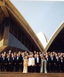 Tenor soloist and compere, Treorchy Male Choir Tour of Australia and New Zealand