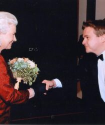 The honour of being presented to Her Majesty Queen Elizabeth II at the Royal Variety Show