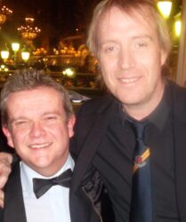Welsh actor Rhys Ifans at Hotel de Paris, Monte Carlo
