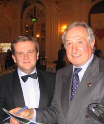 Welsh rugby legend Sir Gareth Edwards, The Savoy Hotel, London